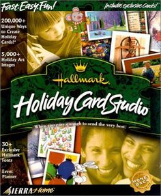 Hallmark Holiday Card Studio Fast Easy Fun Happy Holidays Special Creations New #Vivendi