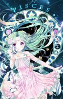 pisces [Zodiac Constellations] by Ayasal Anime Chibi, Manga Anime, Anime Pokemon, Anime Kawaii, Anime Zodiac, Zodiac Art, 12 Zodiac, Zodiac Signs, Astrology Zodiac
