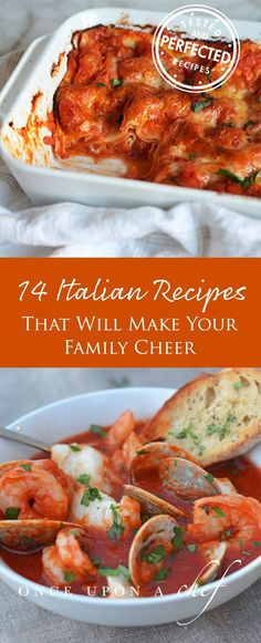 Everyone Loves Italian: 14 Recipes That Will Make Your Family Cheer