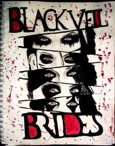 How to Draw Black Veil Brides, Black Veil Brides Logo, Step by ...