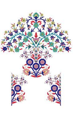 Islamic Motifs, Islamic Art, Botanical Flowers, Botanical Art, Galaxy S8 Wallpaper, Indian Flowers, Islamic Paintings, Egypt Art, Artsy Photos