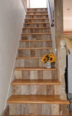 farmhouse staircase - Google Search