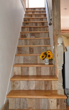 farmhouse staircase google search