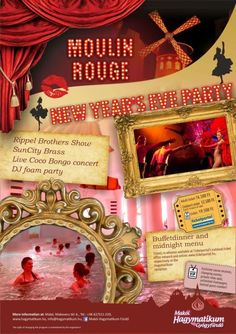 Broadway Shows, Party, Moulin Rouge, Parties