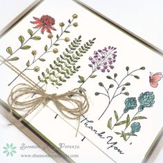 wildflower fields stampin up - Google Search