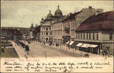 """<a class='trdeflink' href=""""http://postcards.arcanum.hu/hu/60184/"""">Főtér keleti oldala (anno  """"Status paloták"""" )</a>  <br /> Postázás dátuma: 1900.10.29, Zempléni Múzeum"""