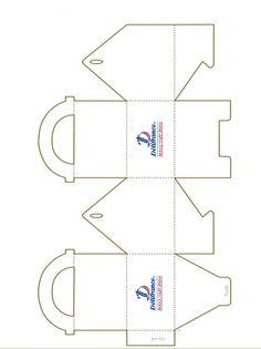 bakery bix logo | Delifrance bakery box template and paper bag logos