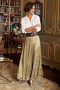 Silk Sienna Skirt softsurroundings.com