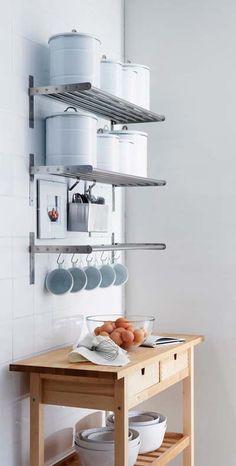 40 buenas ideas para organizar y ordenar la cocina