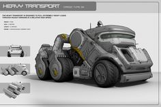 Concept Military Vehicles | Keywords: video game vehicle concept heavy transport carrier digital ...
