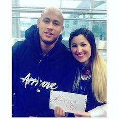Ney hoje no aeroporto ❤❤ #neymar #neymarjr