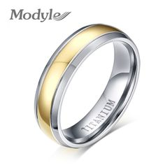 ZORCVENS Free Shipping  Super Deal Ring Titanium Engagement Wedding Bands Ring Jewelry for Men and Women #Affiliate