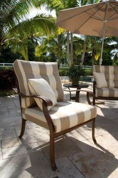 Find This Pin And More On Outside Patio Lounge Chair With Cushions