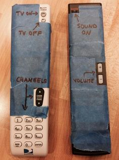 How to visitor-proof your remotes!         Gloucestershire Resource Centre http://www.grcltd.org/scrapstore/