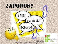 """¿Charo? ¿Quico? ¿Maite? Creo que ya has oído o leído en muchos sitios esos apodos o motes… pero ¿sabes a que nombres se refieren? En Brasil, cuando oímos hablar """"Chico"""" ya sabemos…"""
