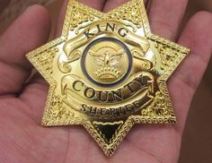 86f45eccc4b us the walking dead king country sheriff prop prop grimes badge metal badge  from  19.99 Dead