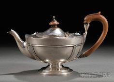 Edwardian Silver Teapot