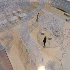 前見文徳による「Night Pergola」有機EL照明デザインコンペ2010 NEDO賞
