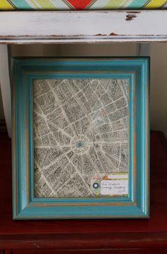 Neat maps in frames
