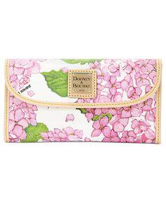 Dooney & Bourke Handbag, Flower Continental Clutch