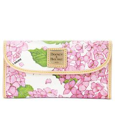 Dooney & Bourke Handbag, Flower Continental Clutch