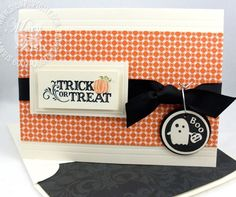 ORDER STAMPIN' UP! Oodles of Halloween card & treat holder ideas using Stampin' Up! Clearance to 60%. 1000+ card ideas. Exclusive offers.