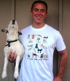 Tons of cute dog lover shirts   I like the DOG PARK Tshirt by LittleIslandCompany on Etsy, $20.00