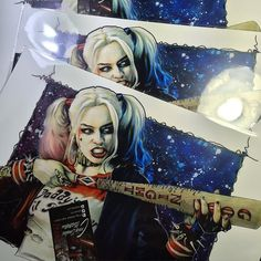 @cdeakes_art http://ift.tt/1Ya3qwD    LAST 2 HARLEY QUINN PRINTS!!!  When they are gone thats your lot!!! Click my link in bio. I will be taking them off the store when the last three have gone! #harleyquinn #suicidesquad #dccomics #dcart #art #drawing #artwork #dc #margotrobbie #sketch #copic #prismacolor  Follow alcaTsar on Twitter  Malaysia-Singapore Entertainment News