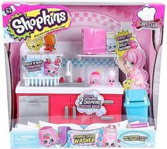 Shopkins sparkle clean washer
