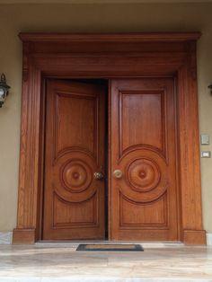 Main Door Design Double Indian 21 New Ideas Wooden Double Doors, Modern Front Door, Double Door Design, Pooja Room Door Design, French Doors Exterior, Door Design, Front Door, Modern Exterior Doors, Wooden Front Doors