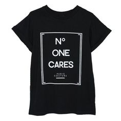 A shirt that truly expresses how you feel about designer labels.