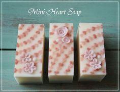 Heart Soap ❤ |横浜・元町中華街駅 手作り石けん教室 With Flowers