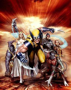 Wolverine &The X-Men - Adi Granov