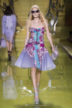 Women's fashion and accessories - SS 2014 - Fashion Show Collection - Versace 2014