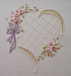 KUFER: TYPES OF EMBROIDERY - embroidery flat - No pattern or tutorial. This is absolutely Beautiful! jwt