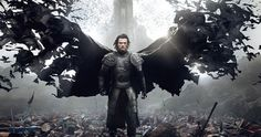 Luke Evans Is Prince Vlad in a New 'Dracula Untold' Poster -- The domestic poster for Universal Pictures 'Dracula Untold' proves that every bloodline has a beginning, and Prince Vlad's starts with an army of bats. -- http://www.movieweb.com/news/luke-evans-is-prince-vlad-in-a-new-dracula-untold-poster