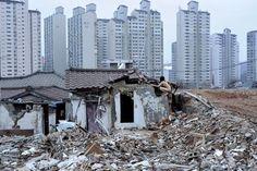 Demolition Zone, Moraenae, Seoul, by miru kim