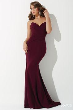 0f6f25cc53e0 Jovani 25631 Strapless Prom Dresses