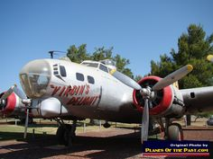 "B-17 ""Virgin's Delight"" on display at Castle Air Museum"