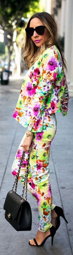 Floral On Floral by Haute And Rebellious