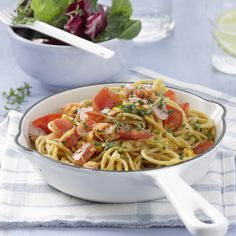 Schinkenspaghetti Rezept | Weight Watchers