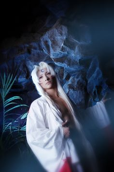 Lord Sesshomaru - Anna and Nick(PrinceAri and Luno_O) Sesshomaru Cosplay Photo - Cure WorldCosplay Epic Cosplay, Male Cosplay, Casual Cosplay, Cosplay Costumes, Awesome Cosplay, Inuyasha And Sesshomaru, Kagome Higurashi, Inuyasha Cosplay, Me Me Me Anime