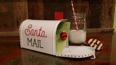 Start a family tradition by adding a letter to Santa Mailbox. Each letter will become a keepsake that can be looked back on for years to come. On