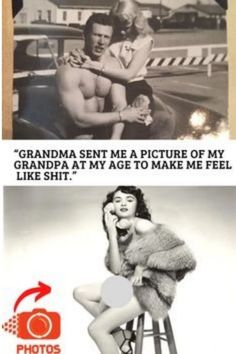 50 #people found old photos of #grandparents & #realized they're #cooler than them Crazy Funny Memes, Wtf Funny, Hilarious, Funny Humor, Funny Stuff, Funny Prank Videos, Funny Pranks, Weird Facts, Fun Facts