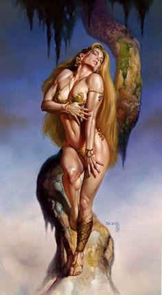 Art boris vallejo warrior fantasy