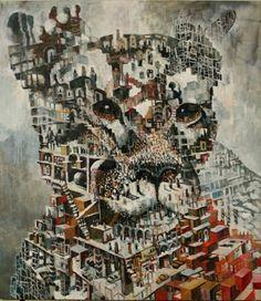 One of my absolute favorite artists, Samuli Heimonen. Viviane Sassen, Creative Pictures, Illustration Art, Illustration Pictures, Illustrations, Art Studies, Art Education, Finland, Oil On Canvas