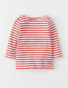 I've spotted this @BodenClothing Stripy Boatneck White/Polish Red Stripe