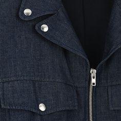 WEEKEND JACKET Washed Denim jacket  350€