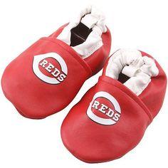 Cincinnati Reds Infant Booties - Red