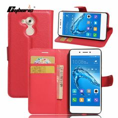 Cyboris Wallet Case For Huawei Honor 6C PU Leather For Huawei Enjoy 6S Card Holder PU Leather caseProtective Phone Bag